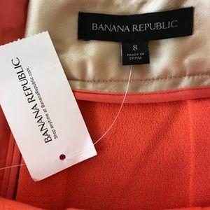 Banana republic peach skirt